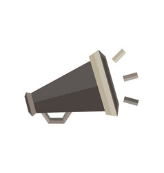 megaphone icon sign speaker symbol loud design vector image vector image