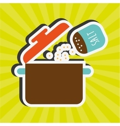Food menu design vector