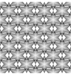 Design seamless monochrome latticed pattern vector image vector image
