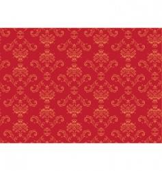 Victorian wallpaper pattern vector