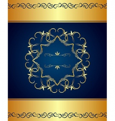 vintage border and frame vector image