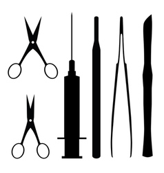 Medical tools vector