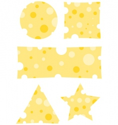 Cheese banners vector