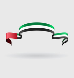 United arab emirates flag background vector