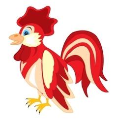 Bird cock vector