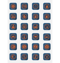 Buisiness icon set vector
