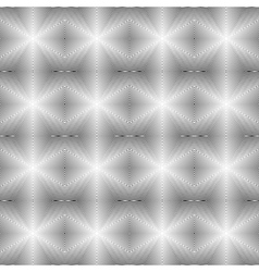 Design seamless uncolored geometric pattern vector