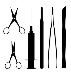 medical tools vector image