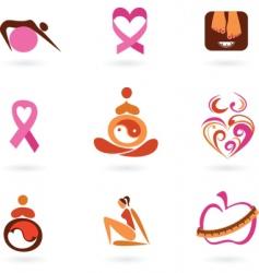 Motherhood icons vector