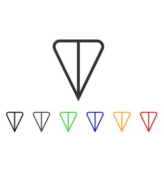 Ton currency icon vector