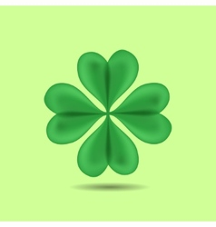 Four-Leaf Clover vector image