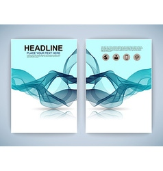 Abstract three dimensional infographic vector