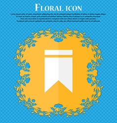 Web stickers tags and banners sale icon floral vector