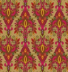 Seamless pattern with hand drawn colorful vector