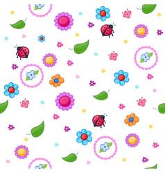 Childish pattern vector
