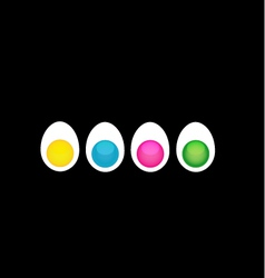 Egg business vector