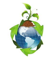 Environment and Ecology Concept vector image vector image