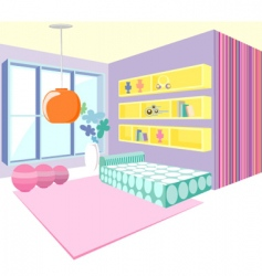 modern interior vector image vector image