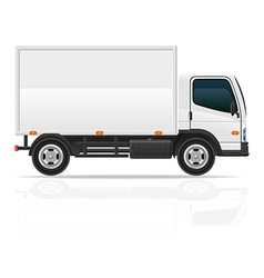 small truck 02 vector image vector image