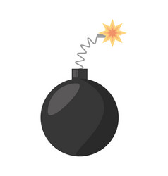 Bomb april fools day vector
