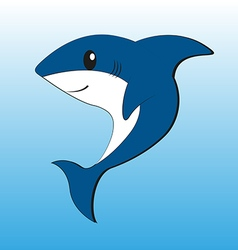 Cute Shark vector image
