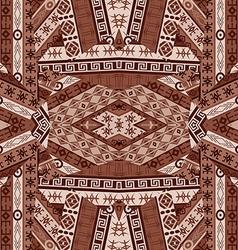 Ethnic patchwork design vector image vector image