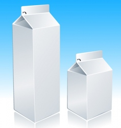milk package vector image vector image