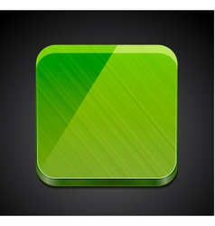 Mobile app empty icon button design vector image