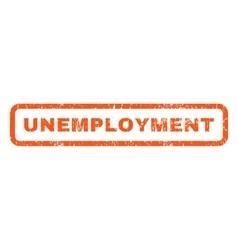 Unemployment rubber stamp vector