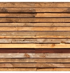 Stacked wooden boards vector