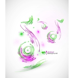 Technology music background vector