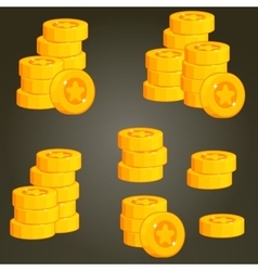 Set of coins for ui vector