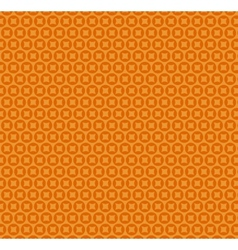 Abstract orange simple seamless pattern vector image vector image
