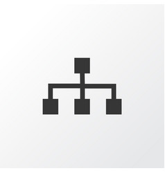 Structure icon symbol premium quality isolated vector