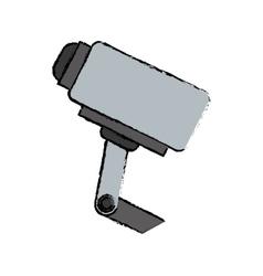Surveillance security camera vector