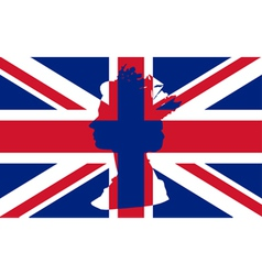 Union Flag vector image vector image