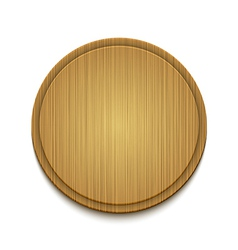 wooden circle background Eps10 vector image vector image