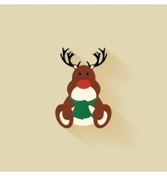 Cartoon christmas object vector