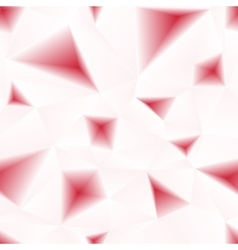 Red triangular holes abstract seamless vector