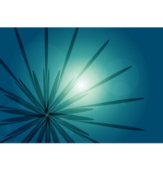 Abstract rays - background vector image