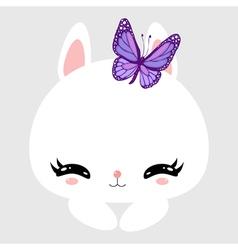 bunny 12 vector image