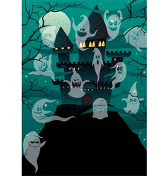 Haunted castles vector