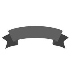 Monochrome silhouette of label border insignia vector