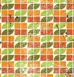 Ornamental worn textile geometric seamless pattern vector
