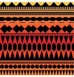 Seamless geometric texture orange and yellow colo vector