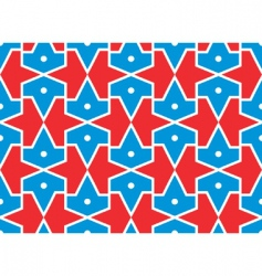 seamless traditional Islamic pattern girth vector image vector image