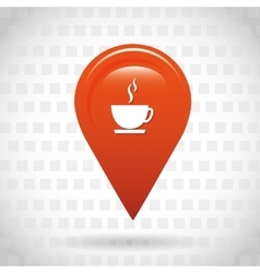 Gps service icon design vector