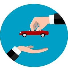 Car sale concept eps 10 vector