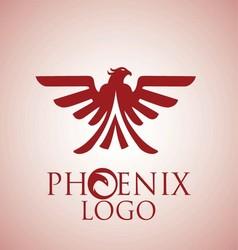 phoenix logo 8 vector image
