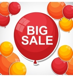 Sale Balloon Concept of Discount vector image vector image